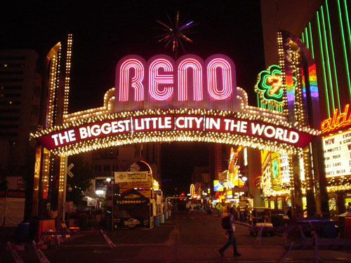 Reno Casino Neon Signs
