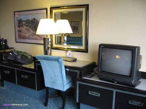 the Peppermill Reno Resort Room