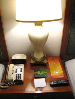 Montbleu Lake Tahoe Hotel Review - Nightstand
