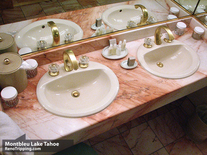 Montbleu Lake Tahoe Hotel Review - Sinks